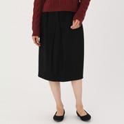 锦纶混斜纹 弹力裙