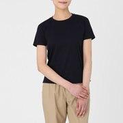双罗纹棉布 圆领T恤