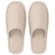 棉方平组织EVA鞋底 左右通用拖鞋 L25-26.5cm