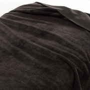 再生PET聚酯纤维 单面摇粒绒毛毯  D・180×200cm 棕色