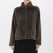 保暖超细纤维毛毯家居服 立领夹克