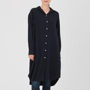 棉法兰绒 衬衫连衣裙