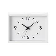 车站时钟·闹钟 宽12.5 x 高9 x 厚4cm