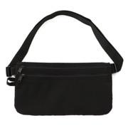 聚酯纤维 防盗包・腰部用 黑色 约13×23cm