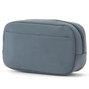 锦纶 箱型包 蓝色 约10×15.5×5cm