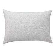 棉天竺 枕套 43×63cm用 混浅灰色