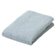 棉柔软手巾・薄型/浅蓝色