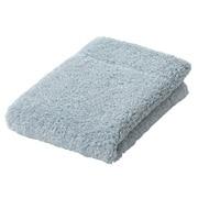 棉柔软手巾・中厚型/浅蓝色