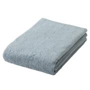 棉柔软浴巾・中厚型/浅蓝色