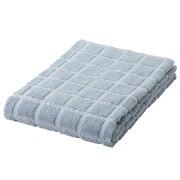 棉可再利用浴巾・中厚型/浅蓝色