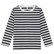 日常儿童 棉条纹长袖T恤