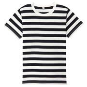 日常儿童 棉条纹短袖T恤