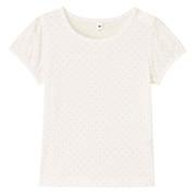 日常儿童 棉水点灯笼袖T恤
