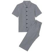 棉泡泡纱短袖睡衣