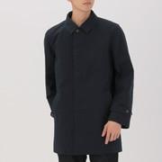 男式 棉双层织 立领大衣