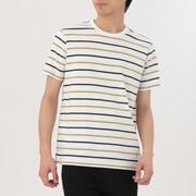 男式 棉 条纹T恤