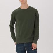 男式 粗细不均棉线 长袖T恤