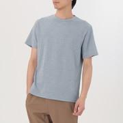 男式 粗细不均棉线 短袖T恤