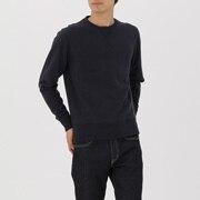 男式 粗细不均棉纱毛圈 运动衫