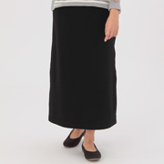 女式 棉混弹力毛圈裙子