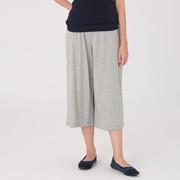 女式 粘胶纤维棉天竺七分裤