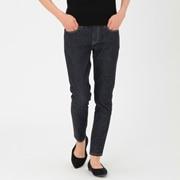 女式 棉超弹牛仔紧身裤