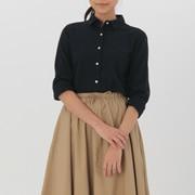 女式 棉双层纱织衬衫