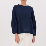 女式 棉双层纱织罩衫