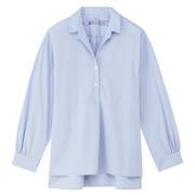 女式 棉水洗束腰长上衣