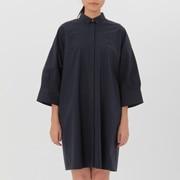 ONE SIZE 棉衬衫连衣裙