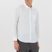 男式 棉水洗 平纹衬衫