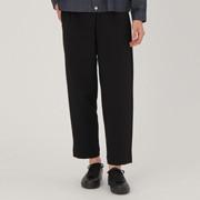 男式 棉混双层编织宽版七分裤