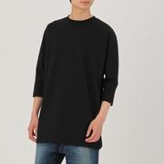 男式 棉混双层编织长T恤