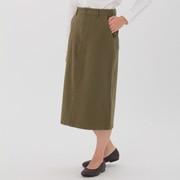 棉横竖弹力丝光斜纹紧身裙