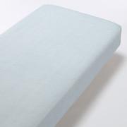 棉蜂窝纹 床垫罩 S 浅蓝色