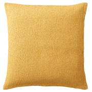 棉圈纱 座垫套 55×59cm用 黄色