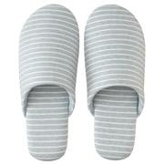 棉天竺 柔软拖鞋 L/25~26.5cm用