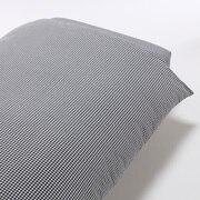 水洗棉 被套 SD 深蓝色格纹