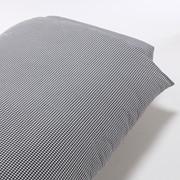 水洗棉 被套 Q 深蓝色格纹