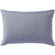 水洗棉 枕套 43×63cm用 深蓝色