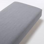 水洗棉 床垫罩 S 深蓝色