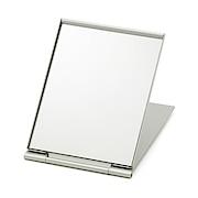 铝制折叠鏡 126×93×5.3mm / 银色