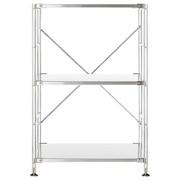 不锈钢组合式置物架 / 不锈钢层板组合 / 小 / 58×41×83cm