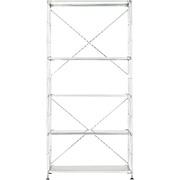 不锈钢组合式置物架/不锈钢层板组合/宽/大/宽86×深41×高175.5cm