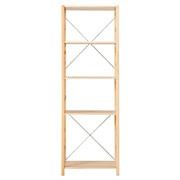 松木材组合式置物架 / 大 / 58×39.5×175.5cm