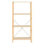 松木材组合式置物架 / 中 / 58×39.5×120cm