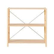 松木材组合式置物架 宽 小 86×39.5×83cm / 自然色