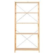 松木材组合式置物架 / 宽 / 大 / 86×39.5×175.5cm