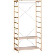 松木材组合式置物架 / 衣柜 / 86×50×175.5cm