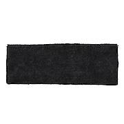 拉毛束发头巾 细 约22×幅7.5cm / 深灰色